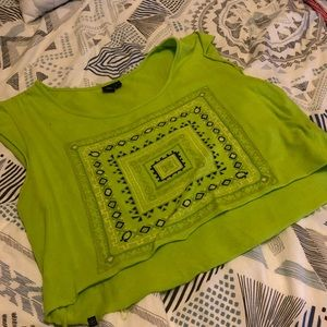 Urban outfitter crop top